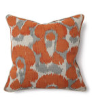 RugStudio presents Classic Home Villa African Mod V150025 Leopard Print Orange / Grey
